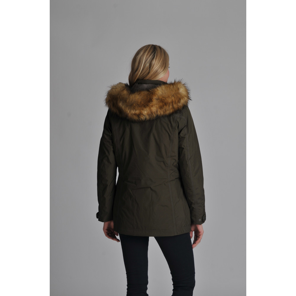Malvern Coat Dark Olive