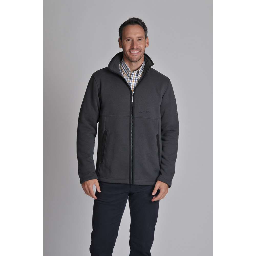 Marlborough Fleece Jacket Charcoal