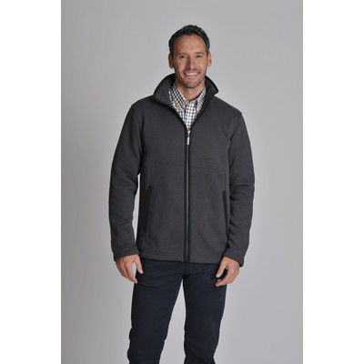 Marlborough Fleece Jacket Charcoal