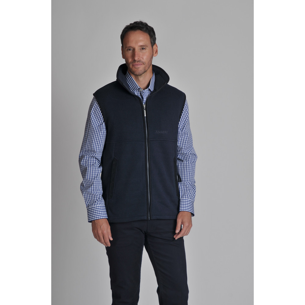Fulham Fleece Gilet Navy