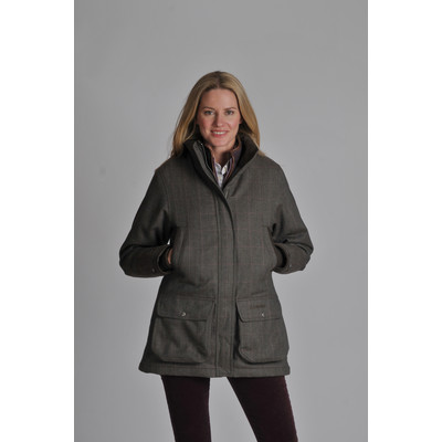 Ladies Ptarmigan Tweed Coat Cavell Tweed