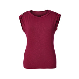 Royal Robbins Noe Twist S/S Top in Raspberry Crush