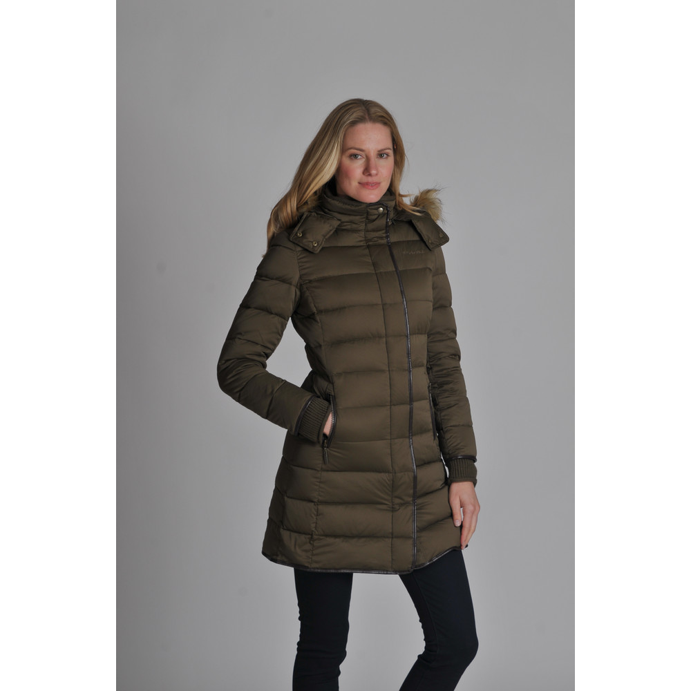 Mayfair Down Coat Olive