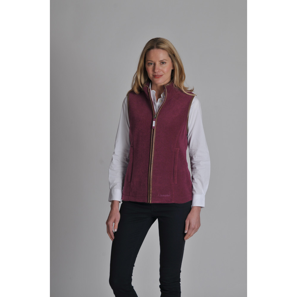 Lyndon II Fleece Gilet Plum
