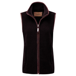 Schoffel Country Lyndon II Fleece Gilet in Espresso