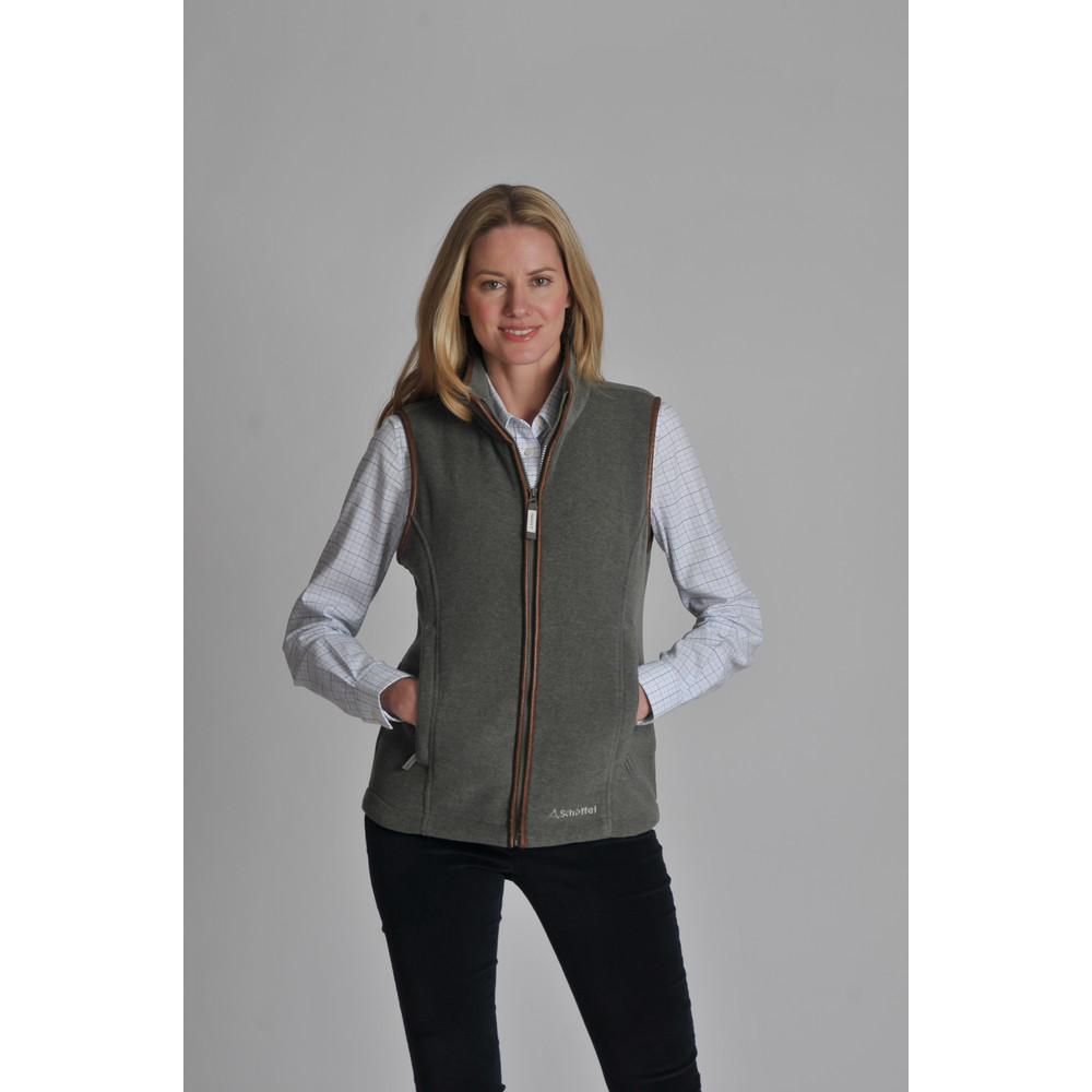 Lyndon II Fleece Gilet Fern