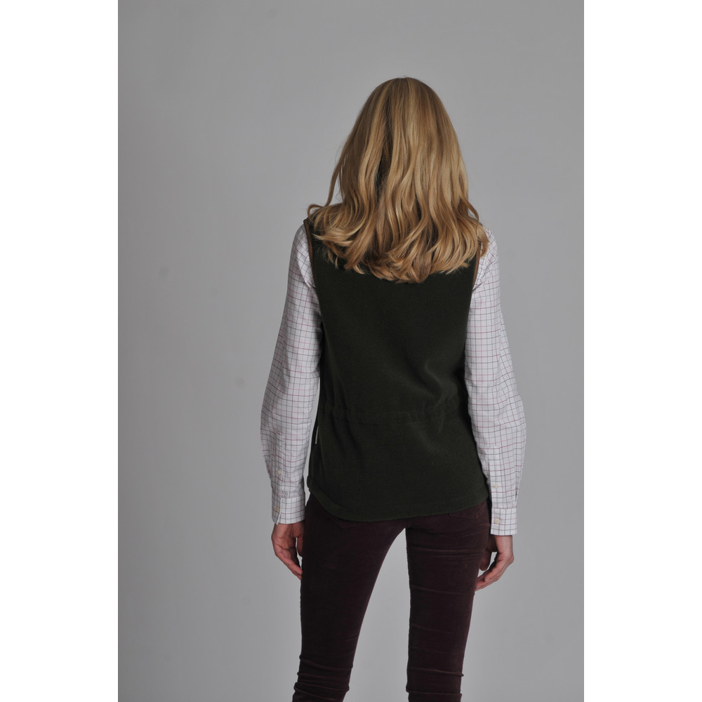 Lyndon II Fleece Gilet Forest