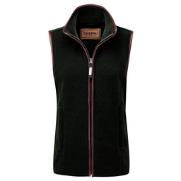 Schoffel Country Lyndon II Fleece Gilet in Forest