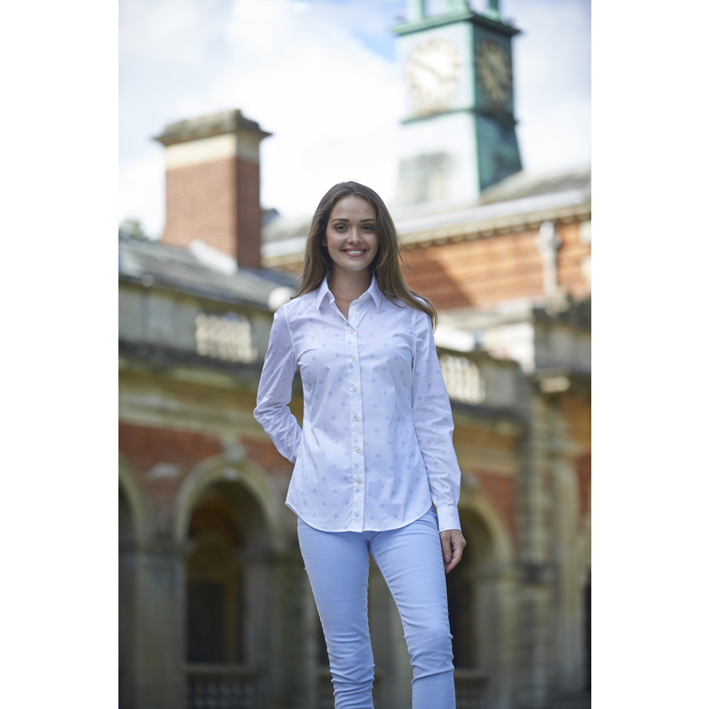 Norfolk Shirt Amalfi Bluebell