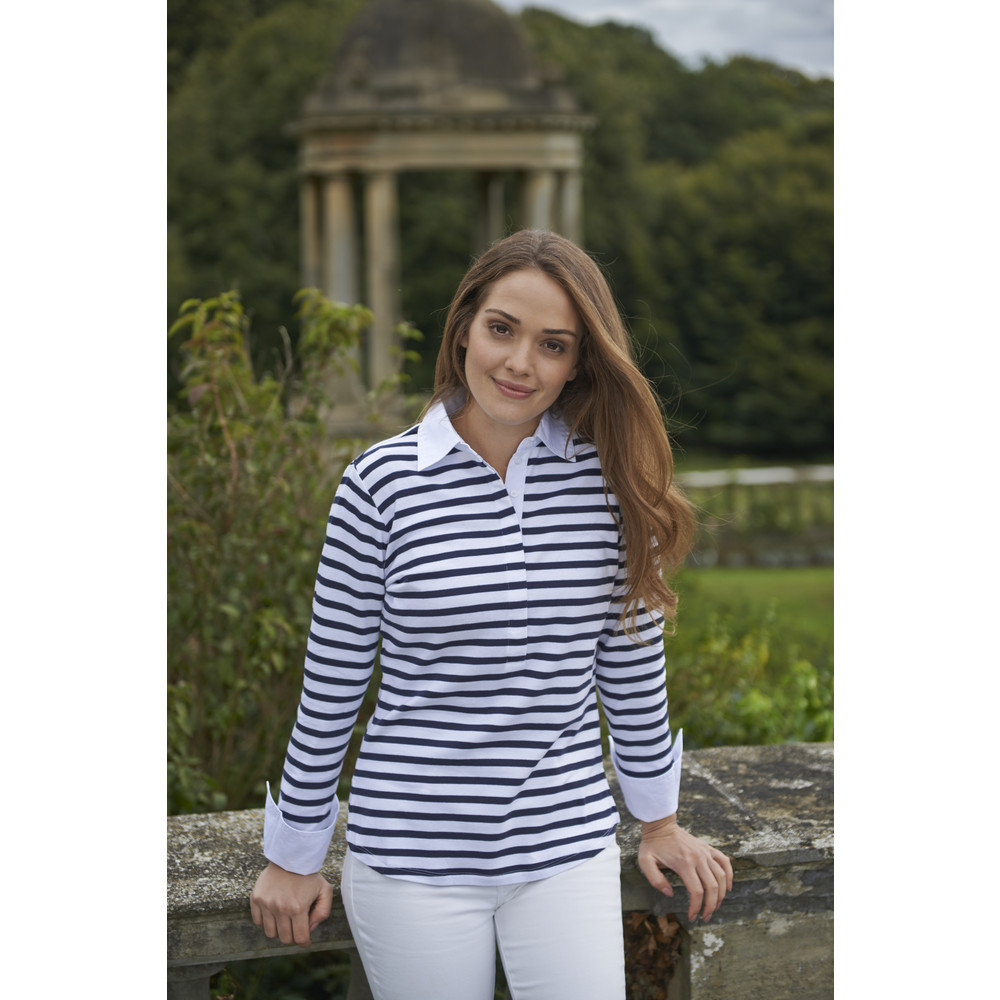 Salcombe Shirt Harbour Stripe Navy