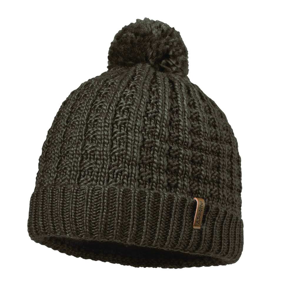 Dublin Knitted Hat Dark Brown