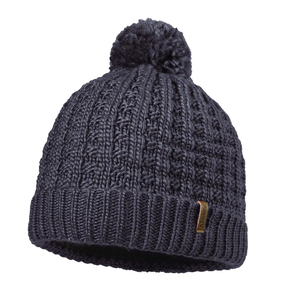 Dublin Knitted Hat Plum Kitten