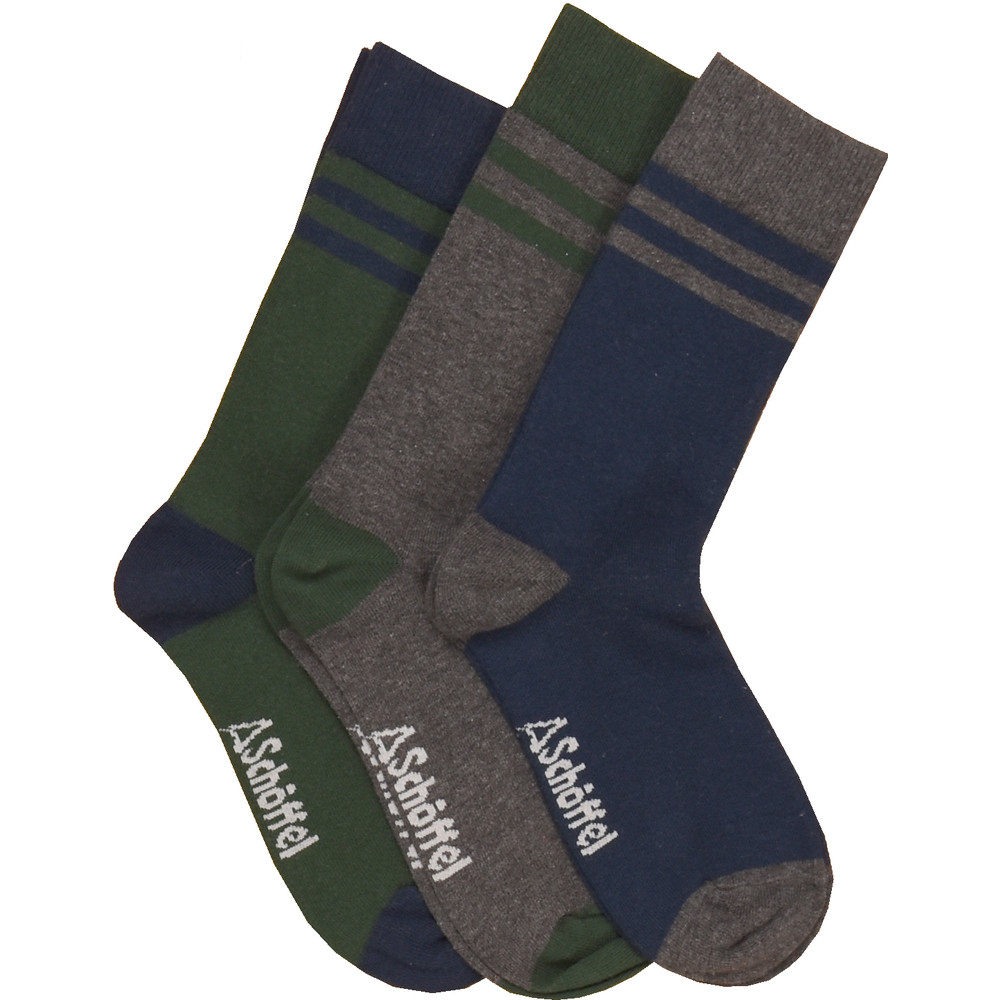 Rock Sock (Pack of 3) Navy Mix
