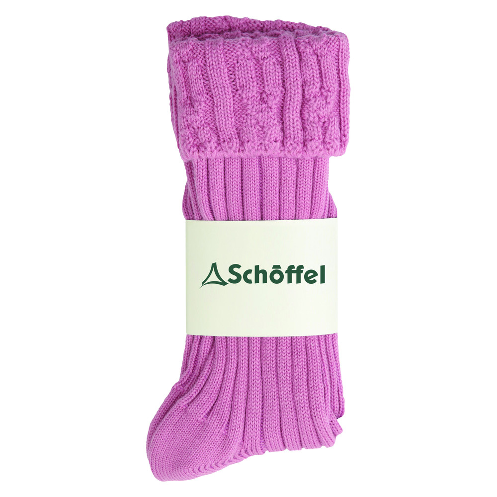 Ladies Short Boot Sock Rose