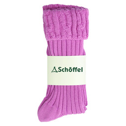Schoffel Country Ladies Short Boot Sock in Rose