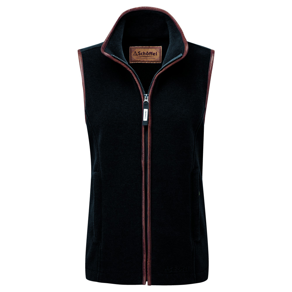 Lyndon Fleece Gilet Gunmetal