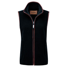 Schoffel Country Lyndon Fleece Gilet in Gunmetal
