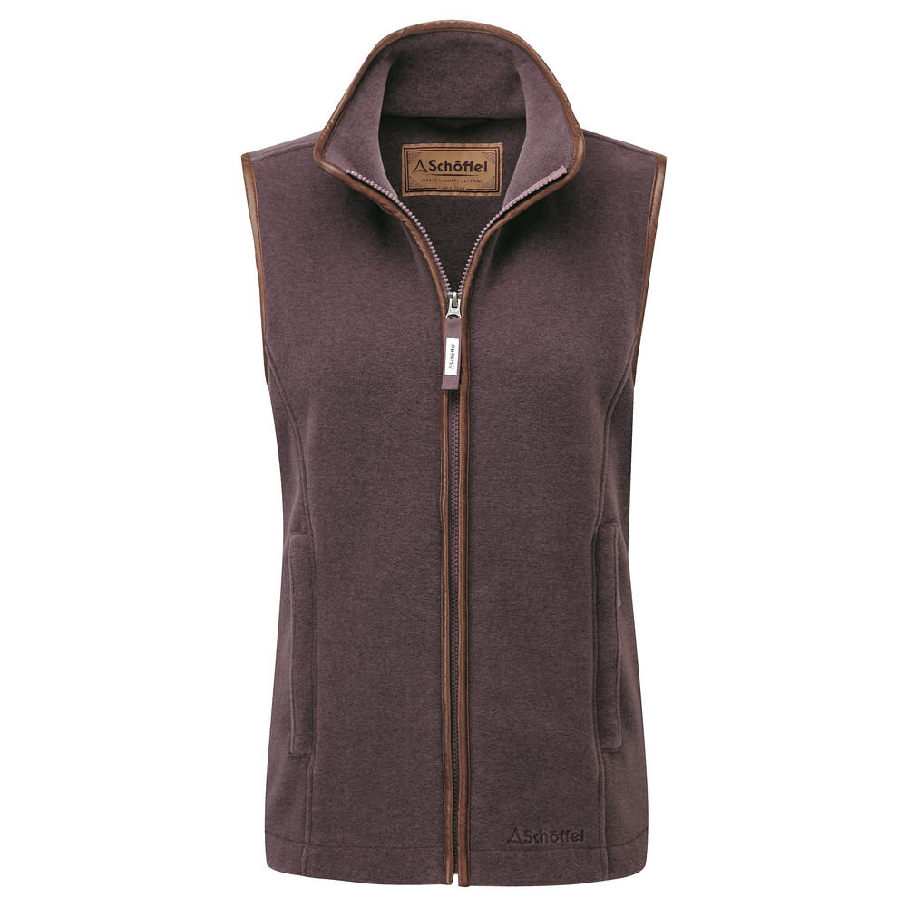 Lyndon II Fleece Gilet Mink/Heather
