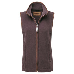 Schoffel Country Lyndon Fleece Gilet in Mink/Heather