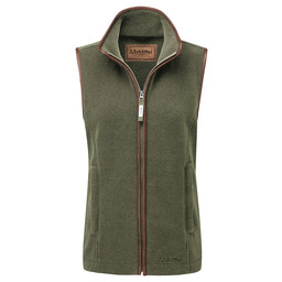 Lyndon Fleece Gilet Fern