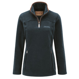 Schoffel Country Tilton 1/4 Zip Fleece in Kingfisher