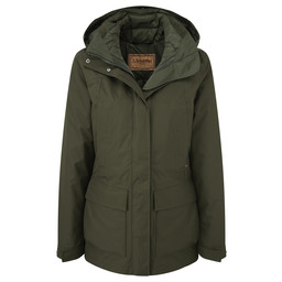 Schoffel Country Langham Coat in Dark Olive