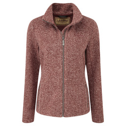 Schoffel Country Rosedale Fleece in Russet Brown