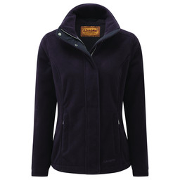 Schoffel Country Melton Fleece in Aubergine