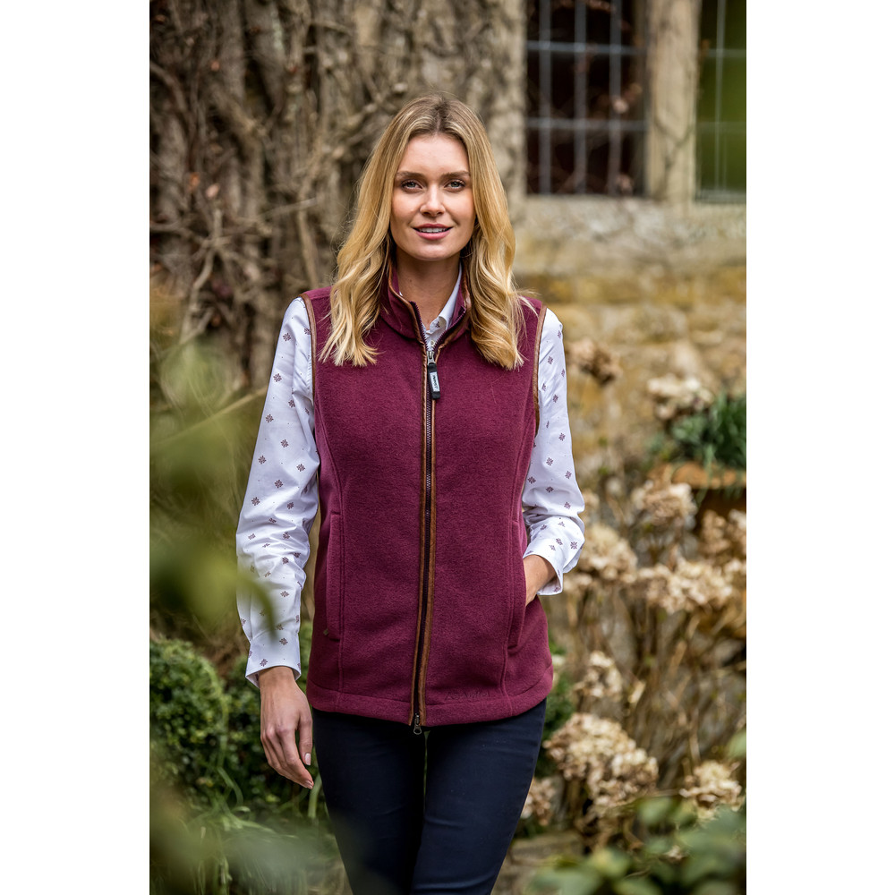 Lyndon II Fleece Gilet Fig