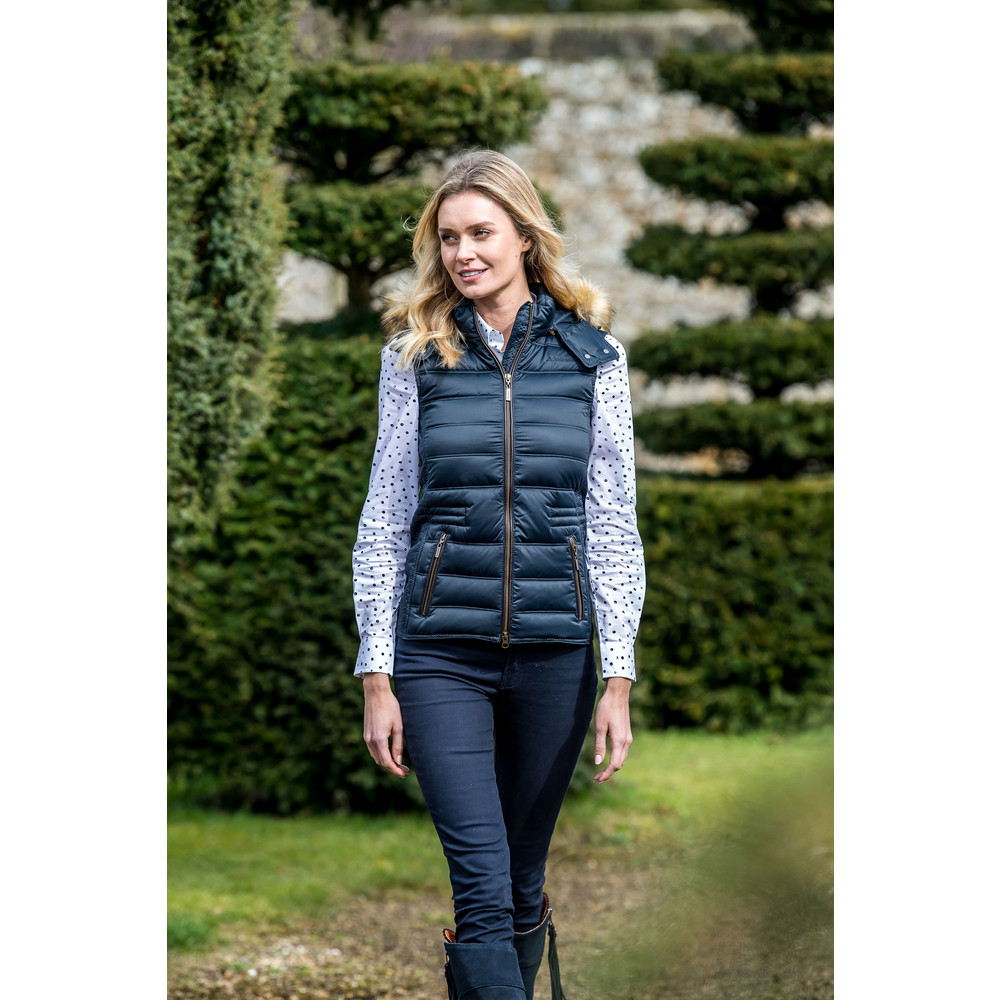 Chelsea Down Gilet Navy Blue