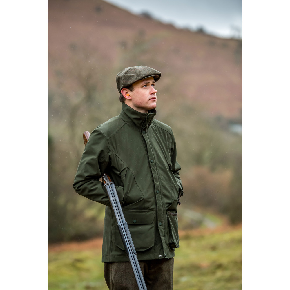 37664b17be386 Schoffel Country Ptarmigan Pro Coat in Green | Schoffel Country Clothing