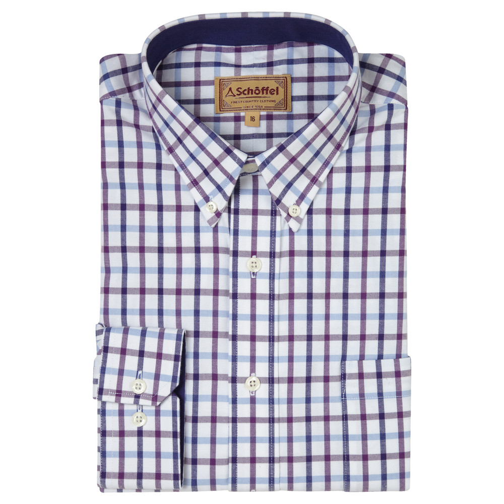 Brancaster Shirt Purple