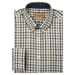 Schoffel Country Brancaster Classic Shirt in Olive Check