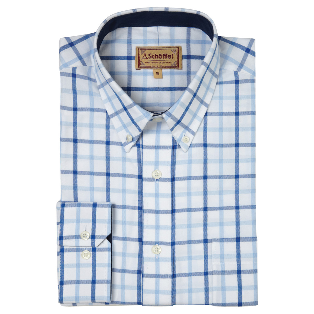 Brancaster Shirt Light Blue