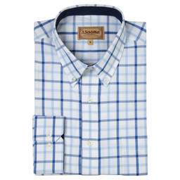 Schoffel Country Brancaster Shirt in Light Blue