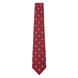 Schoffel Country Silk Tie in Red
