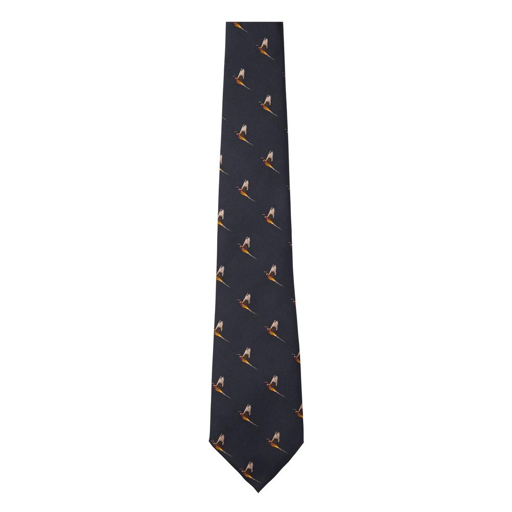 Silk Tie Navy