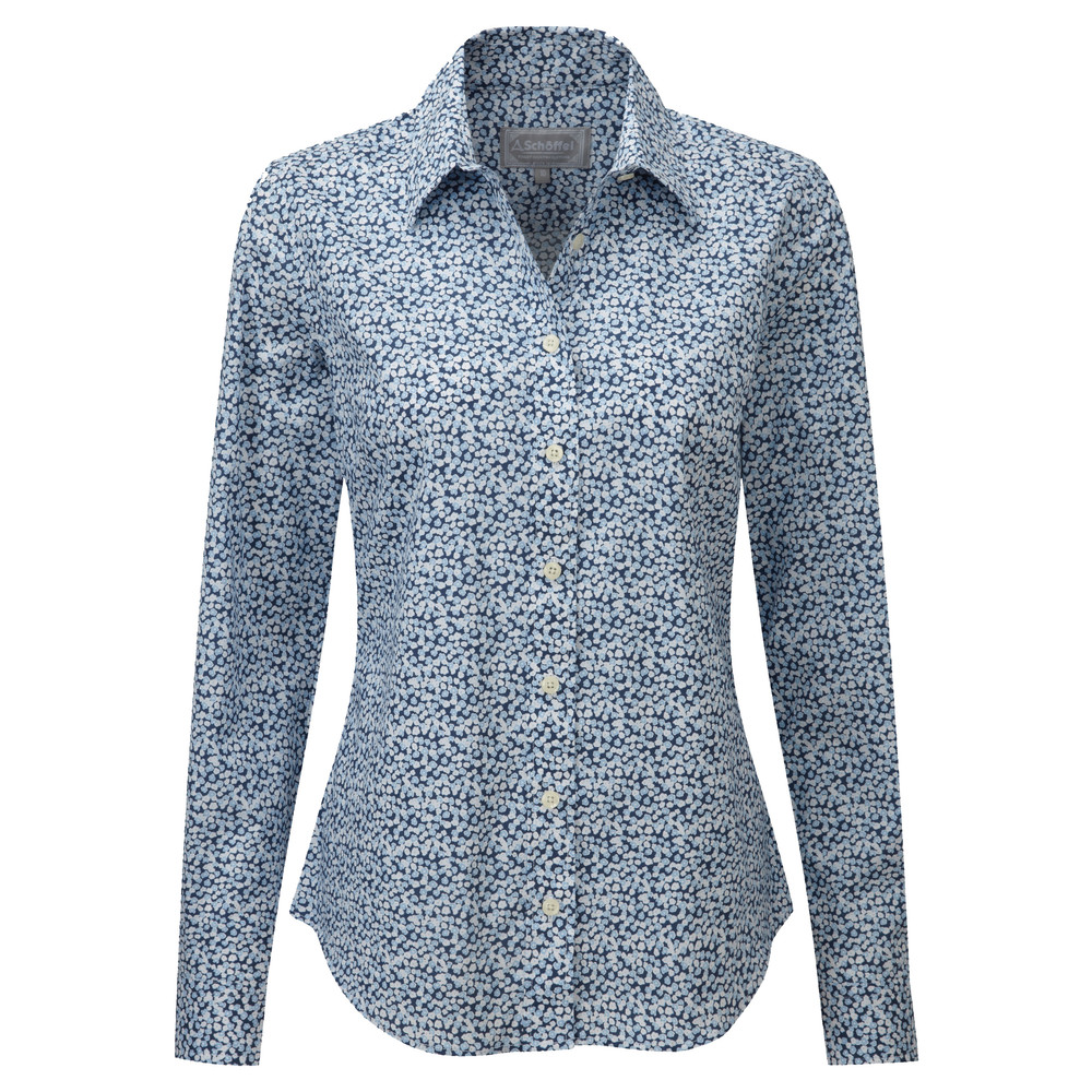 Suffolk Shirt Navy Floral