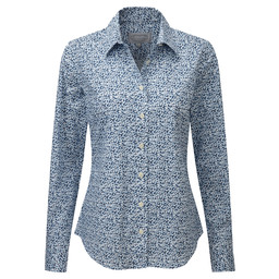 Schoffel Country Suffolk Shirt in Navy Floral