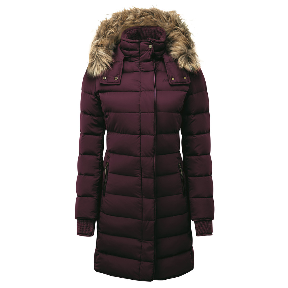 Mayfair Down Coat Fig