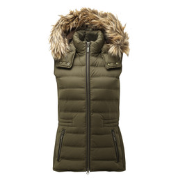 Schoffel Country Chelsea Down Gilet in Olive