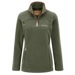 Schoffel Country Tilton 1/4 Zip Fleece in Fern