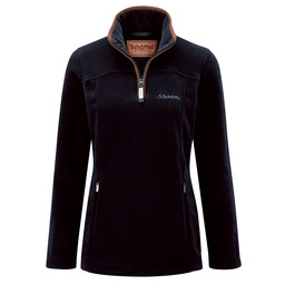 Schoffel Country Tilton 1/4 Zip Fleece in Navy