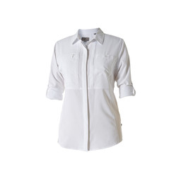 Royal Robbins Expedition Chill L/S Shirt in White
