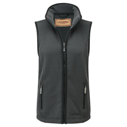 Schoffel Country Knightsbridge Fleece Gilet in Charcoal