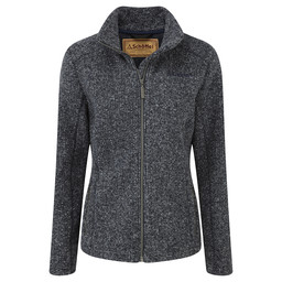Schoffel Country Rosedale Fleece in Deep Blue