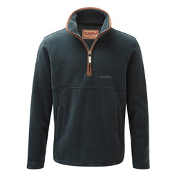 Schoffel Country Berkeley 1/4 Zip Fleece in Kingfisher