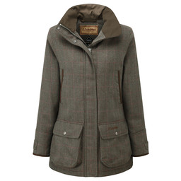 Ladies Ptarmigan Tweed Coat Cavell Tweed