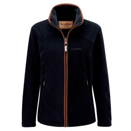 Schoffel Country Burley Fleece in Navy