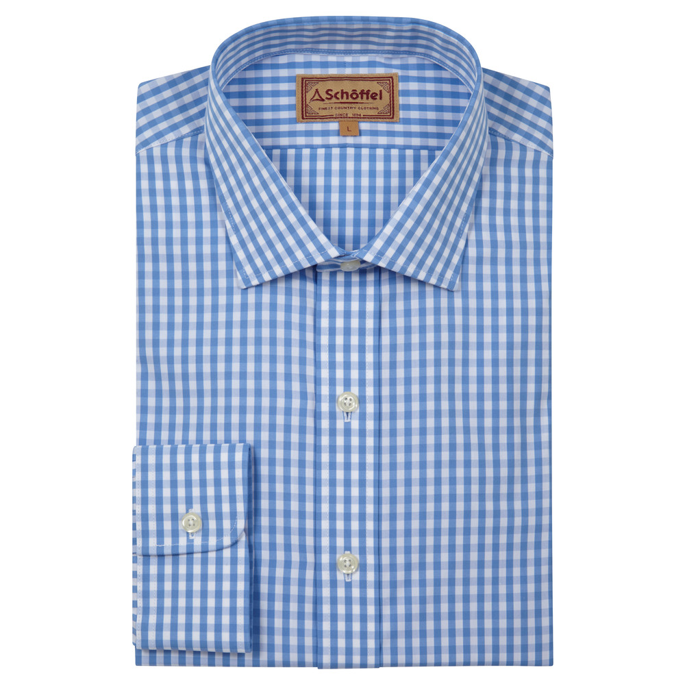 Harlington Shirt Blue Gingham